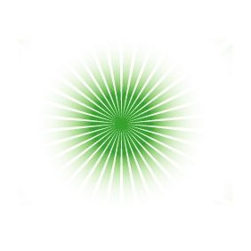Green Vector Sunbeams - Free vector #220253