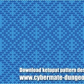 Ketupat Pattern Design 3 - Free vector #220453