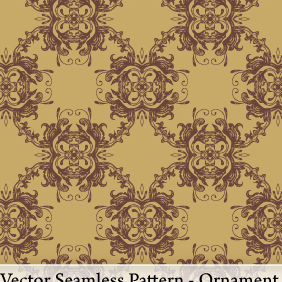 Vector Seamless Pattern - Ornament - vector #220463 gratis