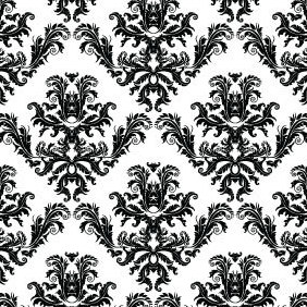Free Damask Seamless Pattern - vector gratuit #220633