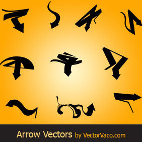 Vector Arrows - vector gratuit #220793