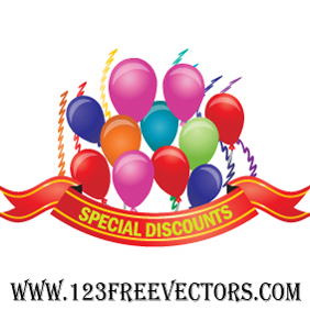 Celebration Vector - vector gratuit #220853