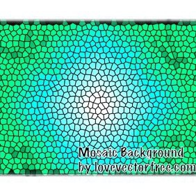 Mosaic Background - Free vector #221003