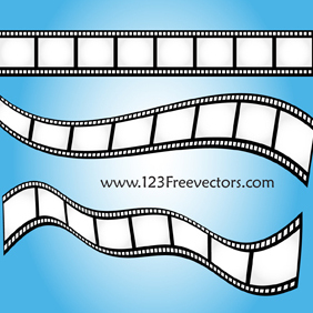 Vector Film Strip-2 - Kostenloses vector #221163