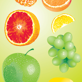 Fruit - vector gratuit #221173