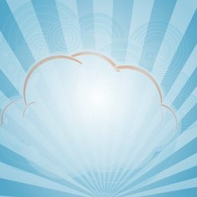 Nuage Background - Kostenloses vector #221263
