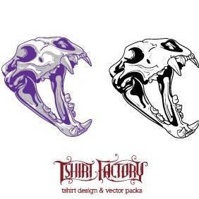 Animal Skull 1 - vector #221563 gratis