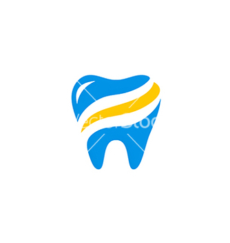 Free dentist abstract health care medic logo vector - Free vector #221573