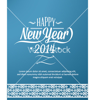 Free happy new year vector - vector #221903 gratis