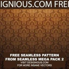 Baroque Seamless Pattern - Free vector #222023