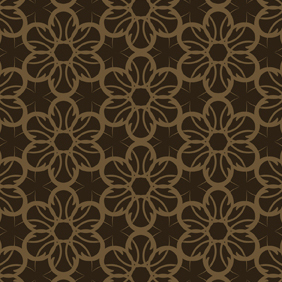 Seamless Flower Pattern-3 - vector gratuit #222373