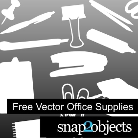 Free Office Supplies Vectors - vector gratuit #222463