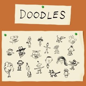 Doodle Pictures - Free vector #222493