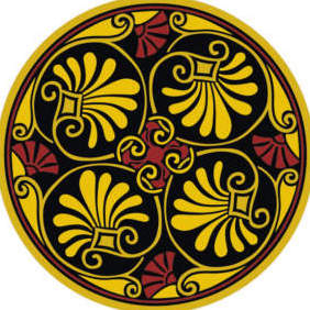 Greek Ornament - vector #222583 gratis
