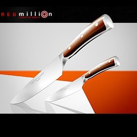 REDmillion Knives - vector #222643 gratis