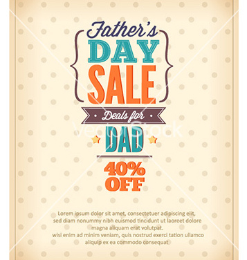 Free fathers day vector - Free vector #222793