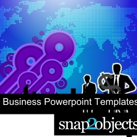 Free Business Powerpoint Templates - vector gratuit #222923