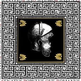 Spqr Rome Antique Helmet Vector - бесплатный vector #223323