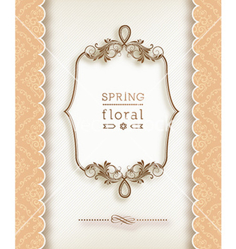 Free floral frame vector - Kostenloses vector #223963
