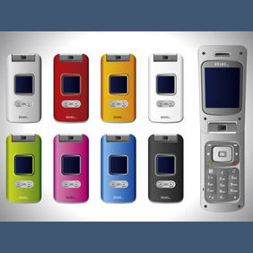 No 129 Vector Cell Phones By R - Free vector #224033