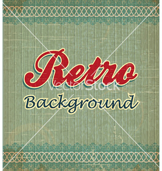 Free retro floral background vector - vector gratuit #224253