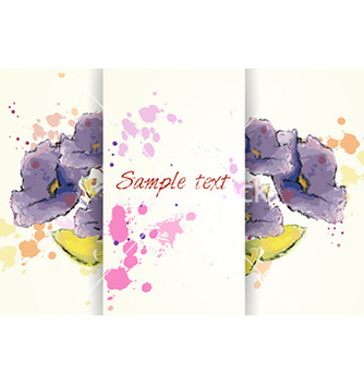Free background with floral and butterflies vector - Kostenloses vector #224353