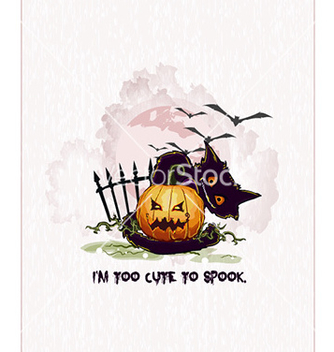 Free halloween background vector - Free vector #224393