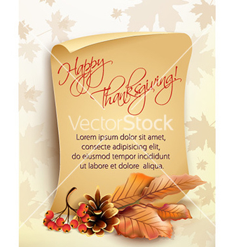 Free thanksgiving background vector - Free vector #224453