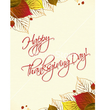 Free happy thanksgiving day vector - Kostenloses vector #224673