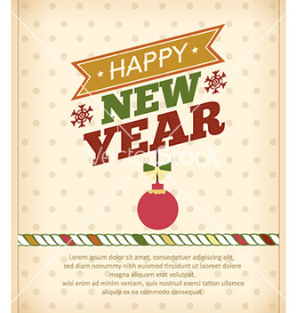 Free happy new year vector - vector #224683 gratis