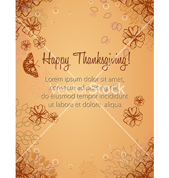 Free happy thanksgiving day vector - Free vector #224723