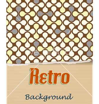 Free retro floral background vector - vector gratuit #224843