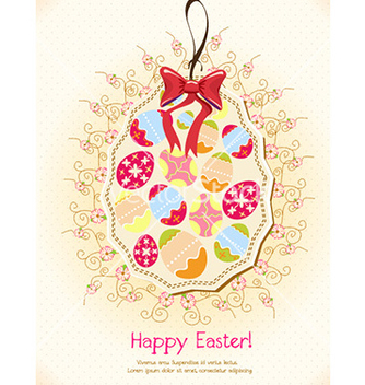 Free easter background vector - vector gratuit #224873