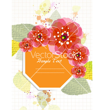 Free colorful floral vector - Free vector #224893