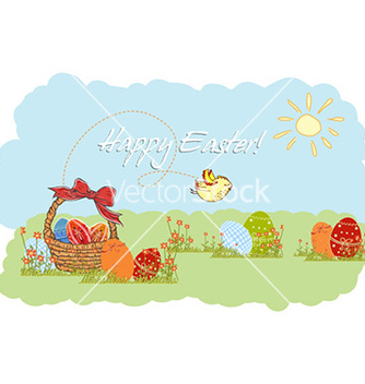 Free easter background vector - Kostenloses vector #225033