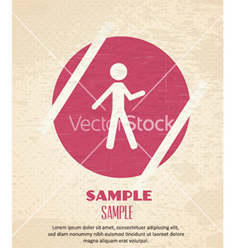 Free with people icon vector - vector #225303 gratis