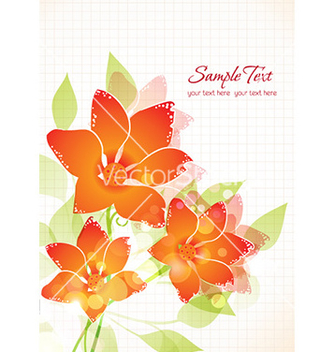 Free spring floral background vector - Kostenloses vector #225483
