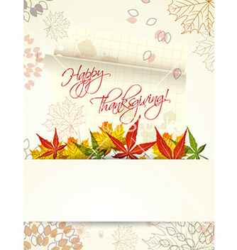 Free happy thanksgiving day with sticker vector - Free vector #225603