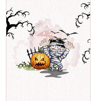 Free halloween background vector - vector gratuit #225893