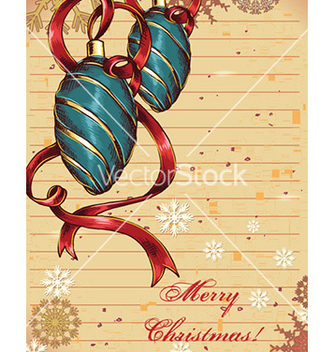 Free christmas vector - Free vector #226023