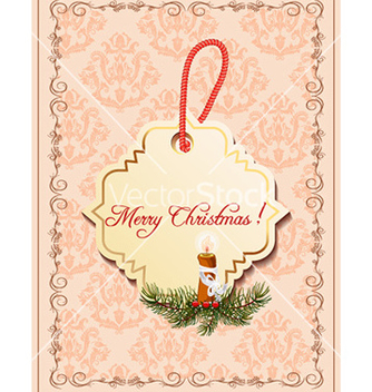 Free christmas with sticker vector - vector gratuit #226123