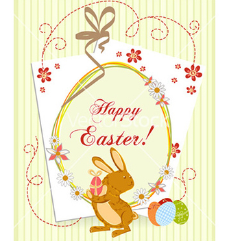 Free easter background vector - бесплатный vector #226273