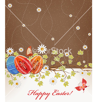 Free easter background vector - vector gratuit #226633