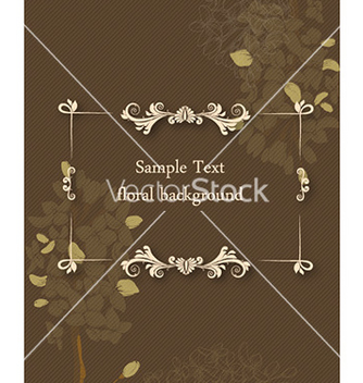 Free floral frame vector - Kostenloses vector #226653