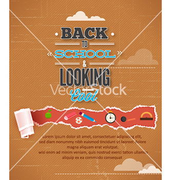 Free back to school vector - Kostenloses vector #226883