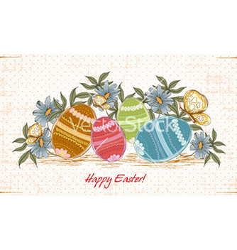 Free easter background vector - бесплатный vector #226893