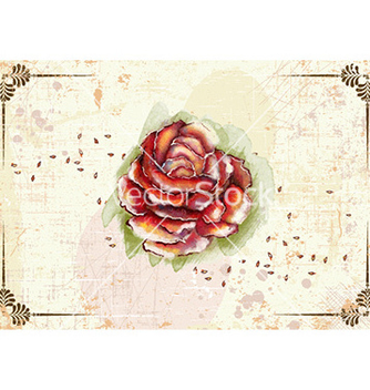 Free grunge floral background vector - vector gratuit #226933