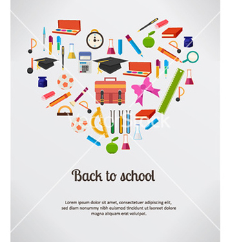Free back to school vector - бесплатный vector #227053