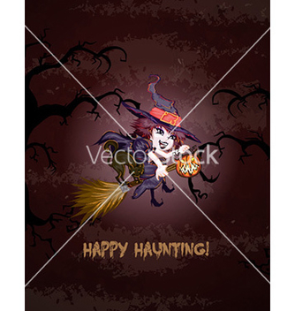 Free halloween background vector - vector gratuit #227163