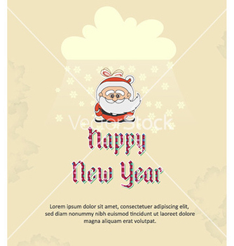Free happy new year vector - vector #227353 gratis